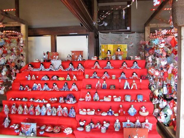28.2.29旧亀井邸の雛飾り