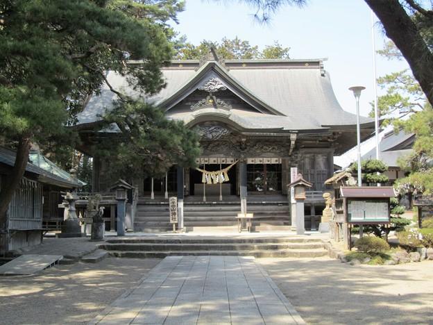 28.3.31小牛田山神社拝殿