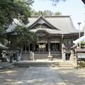 写真: 28.3.31小牛田山神社拝殿