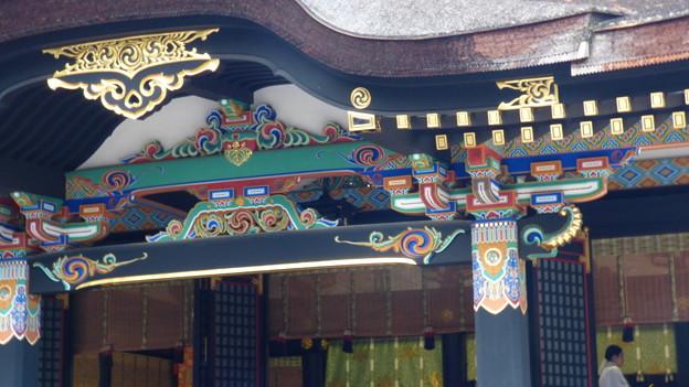 写真: 香取神宮拝殿
