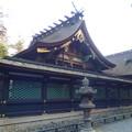 写真: 香取神宮拝本殿
