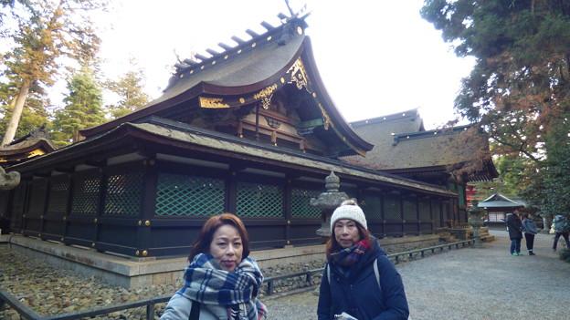 香取神宮拝殿と本殿