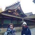 Photos: 香取神宮拝殿と本殿
