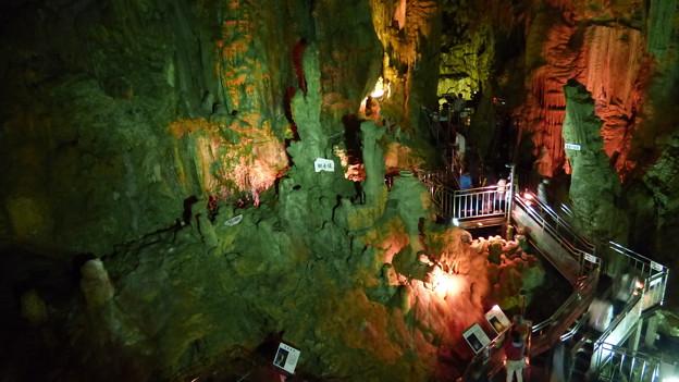 あぶくま洞 滝根御殿高さ29m