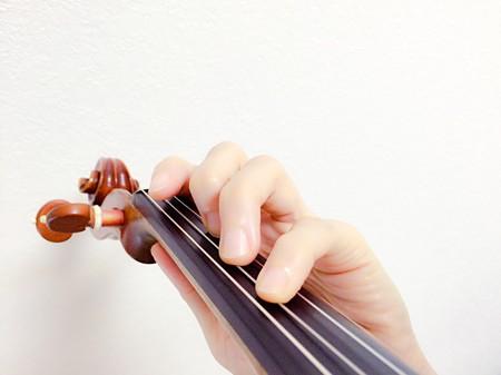 中野・江古田 バイオリン 個人レッスン ヴィオラ 吉瀬弥恵子 ワイズ音楽教室 弓の圧力によって音程が変わる場合