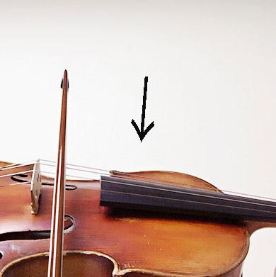 中野・江古田 バイオリン 個人レッスン ヴィオラ 吉瀬弥恵子 ワイズ音楽教室 弓が足りない時