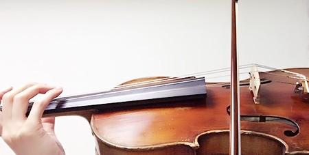 中野・江古田 バイオリン 個人レッスン ヴィオラ 吉瀬弥恵子 ワイズ音楽教室 解放弦は控えめに
