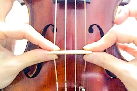 中野・江古田 バイオリン 個人レッスン ヴィオラ 吉瀬弥恵子 ワイズ音楽教室 駒の足を動かす時
