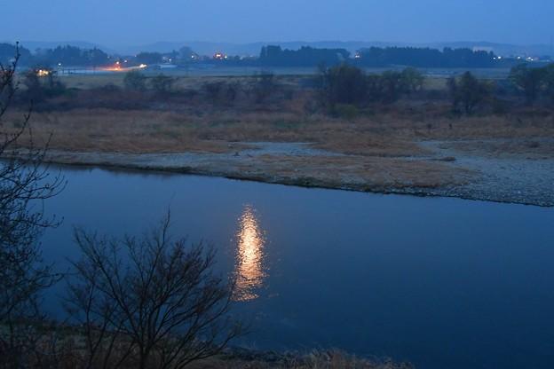 写真: 月明り
