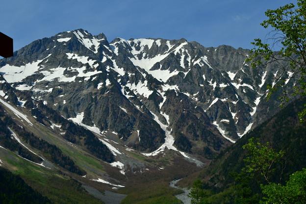 写真: 1500mの地から3190mを眺める