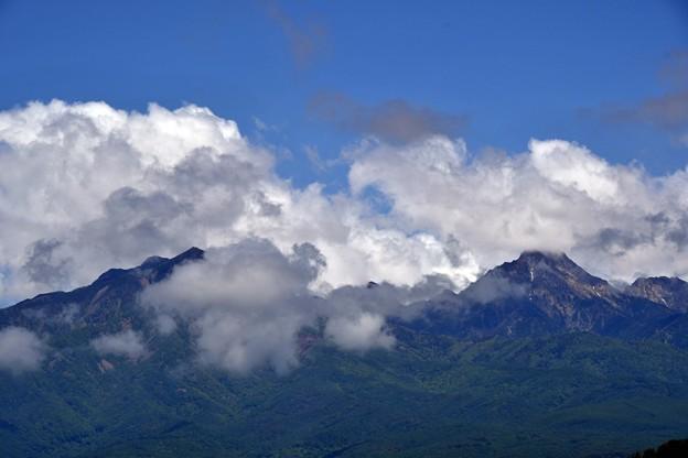 写真: 踊る雲