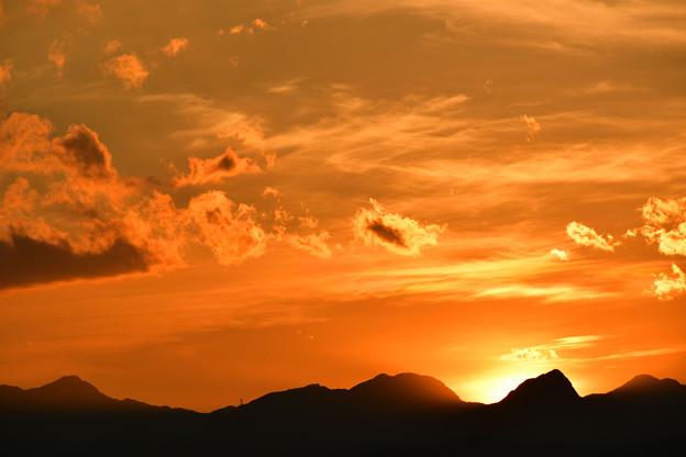 Photos: 今日の陽は落ちて