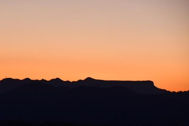写真: すっきりしたお山ですね~^