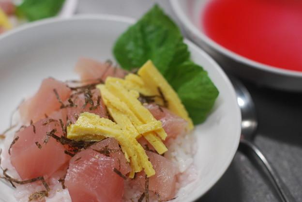 紫蘇ジュースのお寿司
