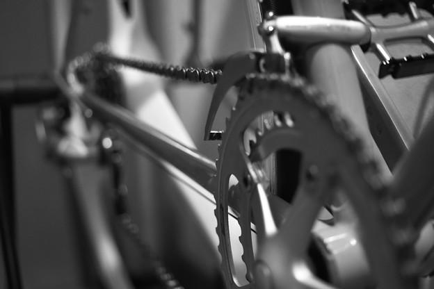 古いロードバイク