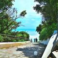 Photos: 海の見える階段