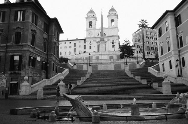 写真: ローマの静寂