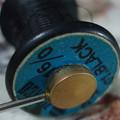 写真: 使い切った糸