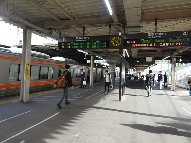 Photos: 金山駅/ホーム