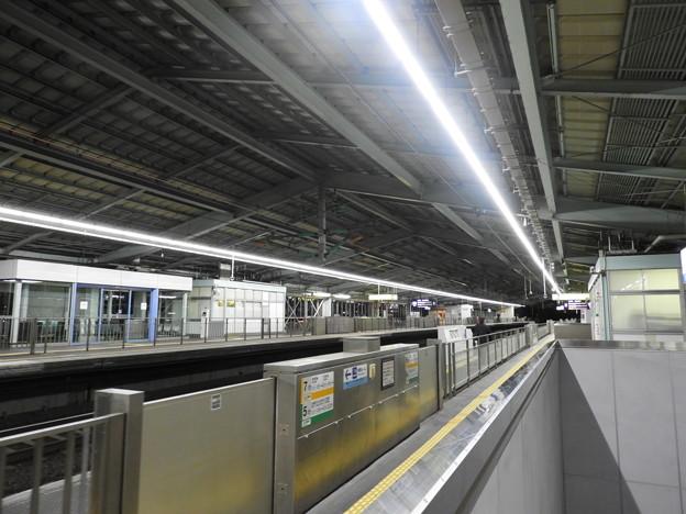 新神戸駅/新幹線ホーム