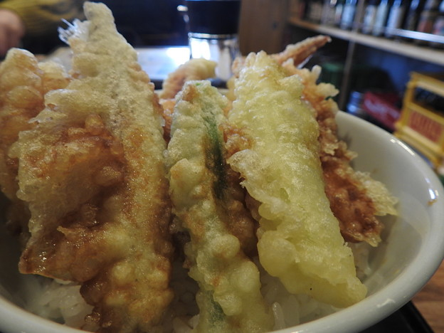 梅鈴/セットのミニ天丼