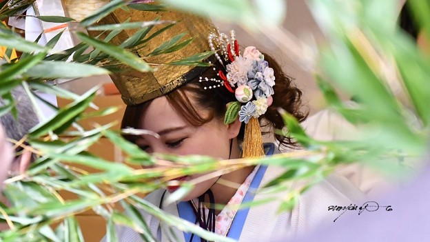 写真: 福娘3