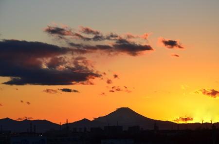 遠望の富士ーB
