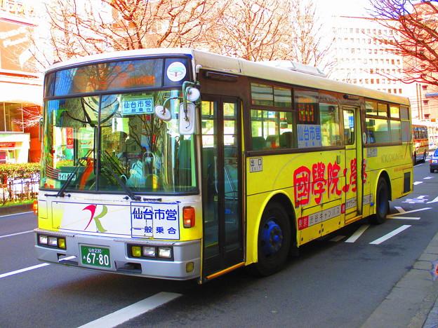 仙台市営バス川内営業所 S6780 - 写真共有サイト「フォト蔵」